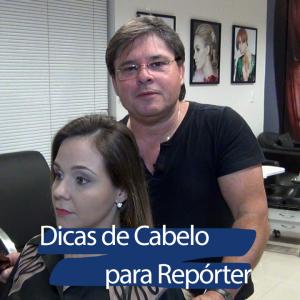 Dica de Cabelo - Curso Repórter de Tv - Arnaldo Ferraz