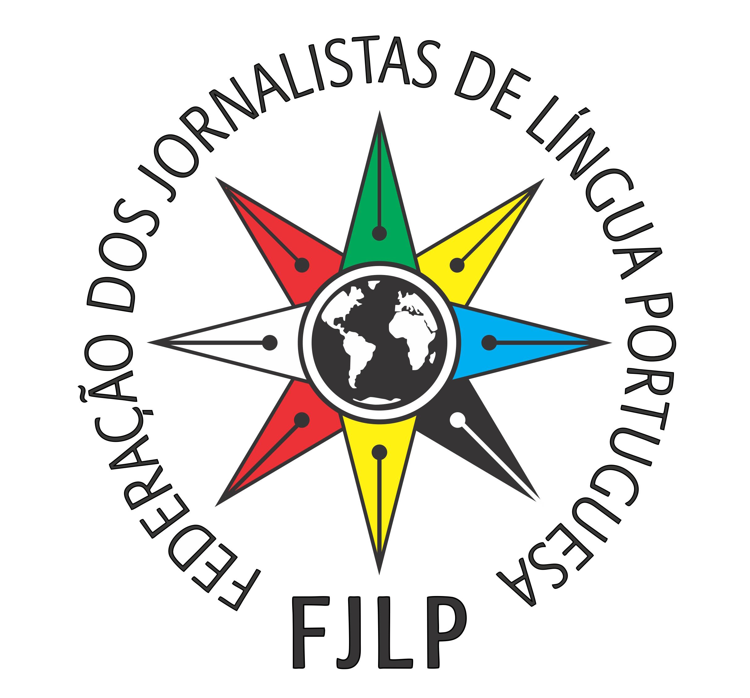O curso Reporter tv tem apoio da Federação de Jornalistas da Lingua Portuguesa